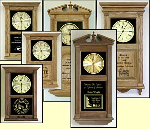 Custom Etched Clocks and Laser Etched Logo Clocks