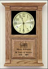 Years of Service Awards an Etched Awards Clocks