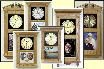 photo wall clocks