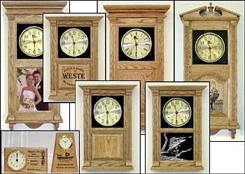 Oak Clocks