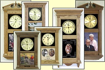 photo etched clocks
