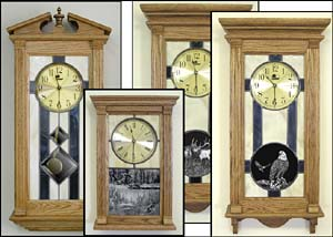 Unique Wall Clocks and Handcrafted Stained Glass Clocks