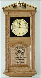 custom design wall clocks and oak wall clock