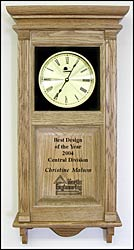 company logo clocks and custom personalized clock