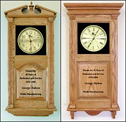 awards clocks