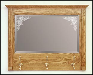 decorative wood mirror, handcrafted wall mirrors