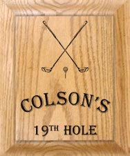 custom golf decor
