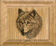 Clocks with Wolf Pictures